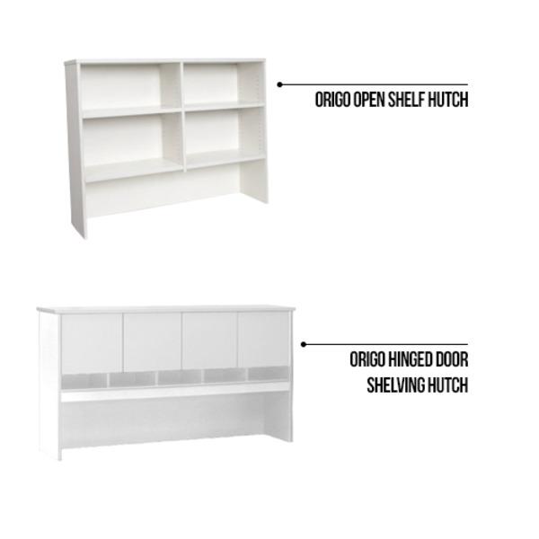Origo Office Desk Home Study Workstation Desks All White
