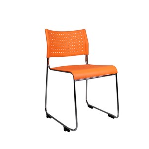 Link II Sled Base Visitor Client Chair 150kg Rated Metal Rod Frame Linking Devise Included