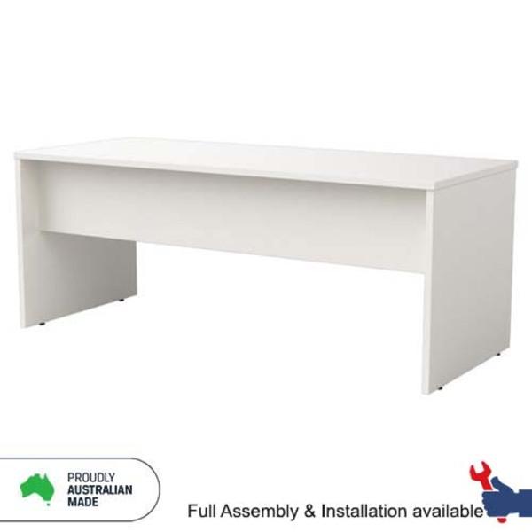 Origo Straight Office Desks Open Slabend Base Very Durable - Australian Made