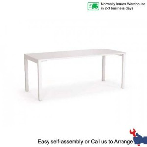 Axis Desk Straightline Office Study Home Workstation Desks Table Sturdy Metal Frame