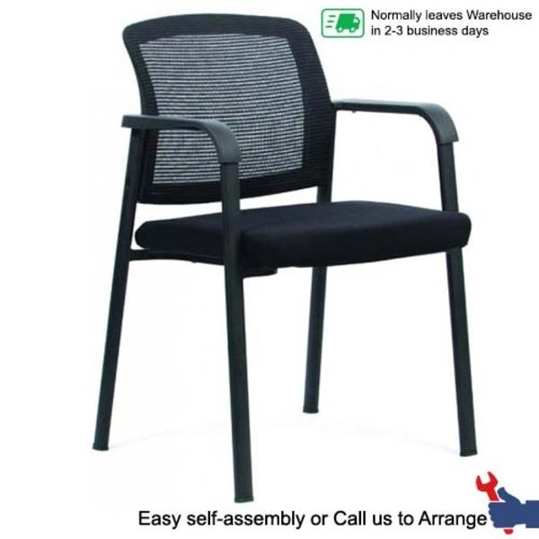 Ozone 4-Leg Mesh Back Visitor Chair