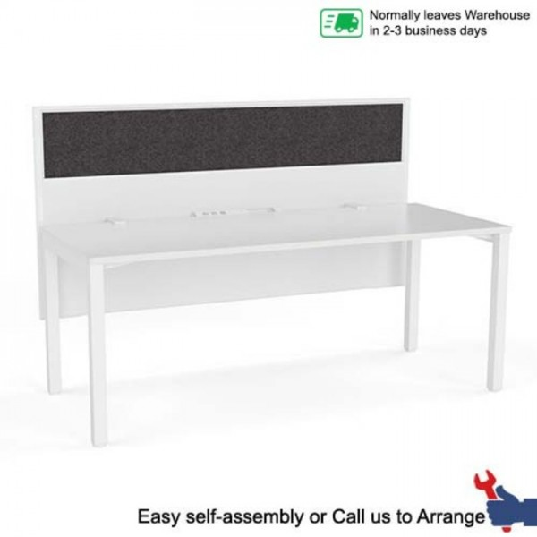 Axis Single User Workstation - Single Sided with E-panel Screen
