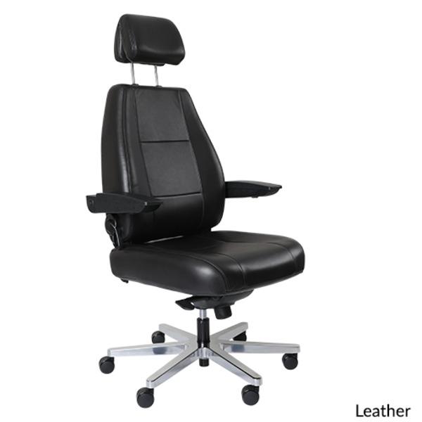 Controlmaster 24/7 Multi-Shift Heavy Duty Ergonomic Office Chair - 200kg