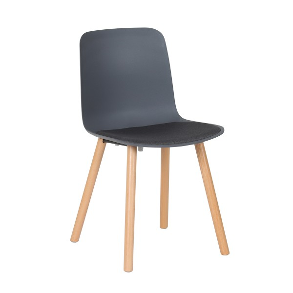 Cence 4 Legs Timber Office Visitor Cafe Chair