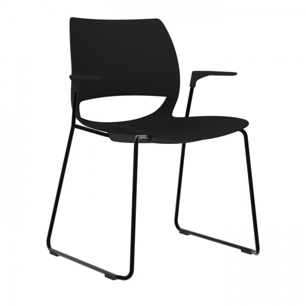 Delta Sled Base Office Visitor Cafe Chair