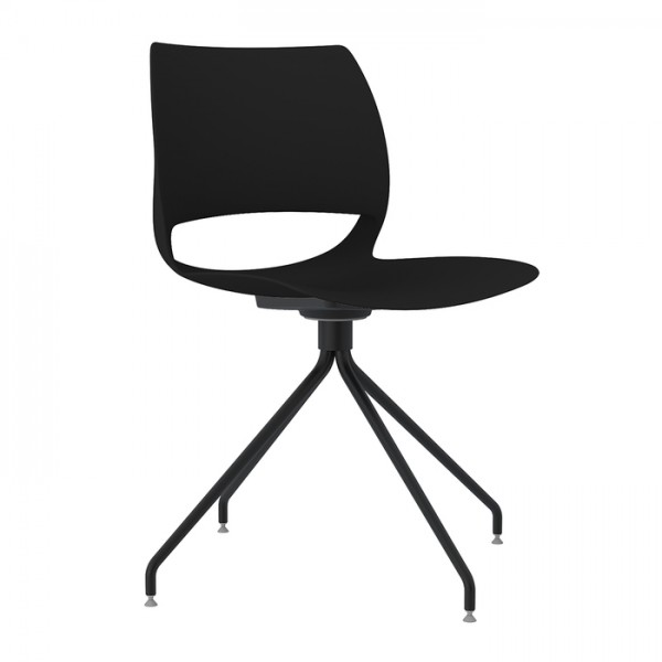 Delta Metal Trestle Office Visitor Cafe Chair