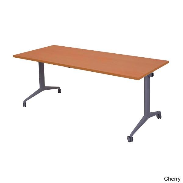 Rapidline Echo Flip Top Table Folding Stacking Heavy Duty Metal Frame
