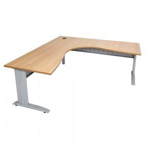 Fast Rapidline Corner Span Desk Metal Frame & Modesty