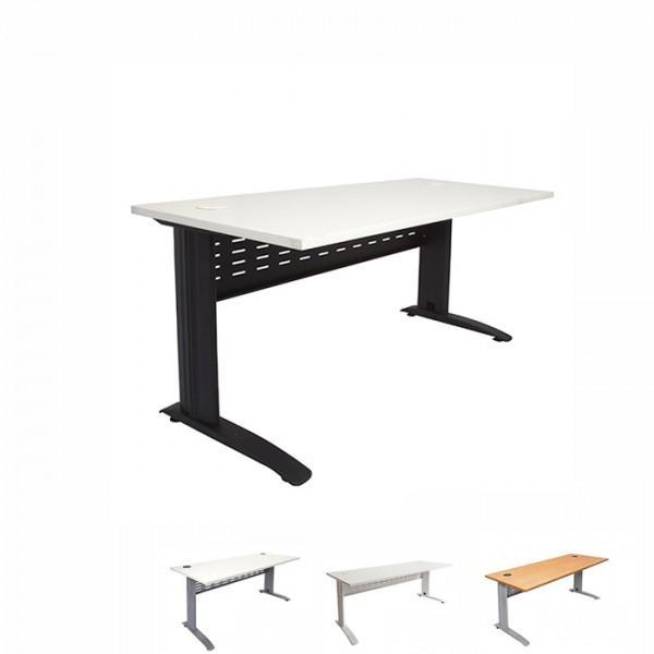 Fast Rapidline Straight Span Office Desk Metal Frame & Privacy Panel