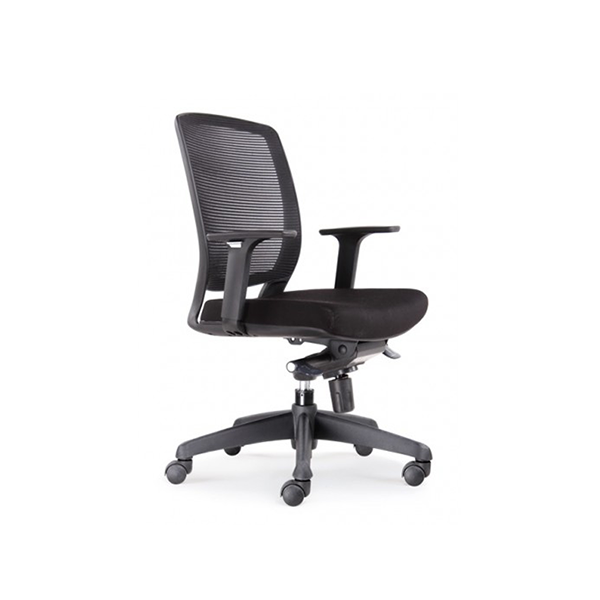 Modern Mesh Office Task Chair with Arms