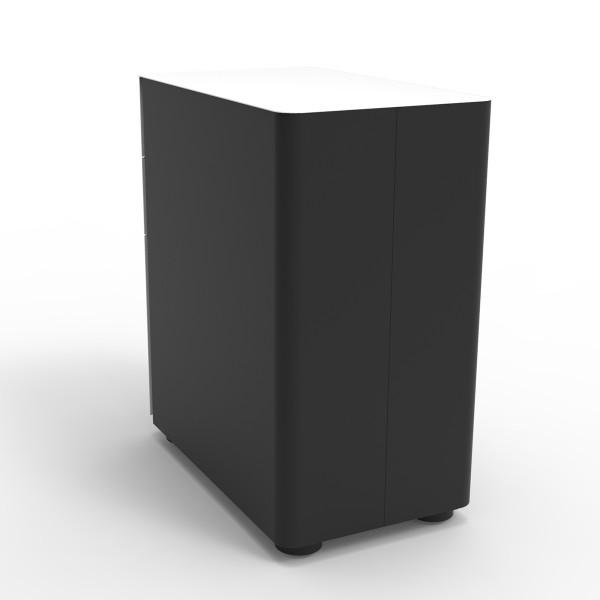 Eternity 3 Drawer Slimline Lockable Mobile Pedestal