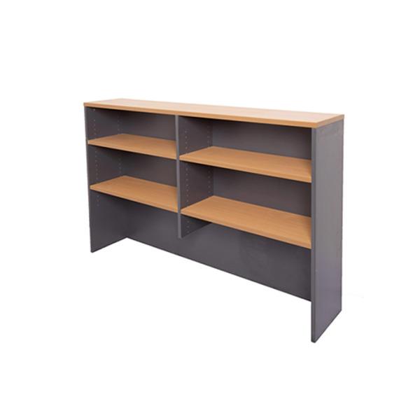 Rapid Overhead Desk Storage Adjustable Shelf Hutch