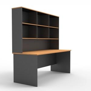 Rapid Worker Desks Open Office Study Home Desk & Optional Hutch