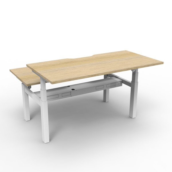 Paramount 2 Person Back to Back Electric Height Adjustable Desk