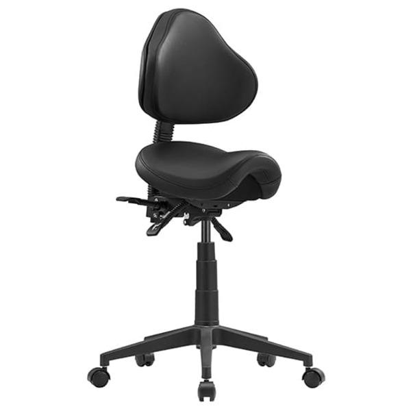 Saddle Chair Industrial Lab Height Adjustable Stool - STAGE