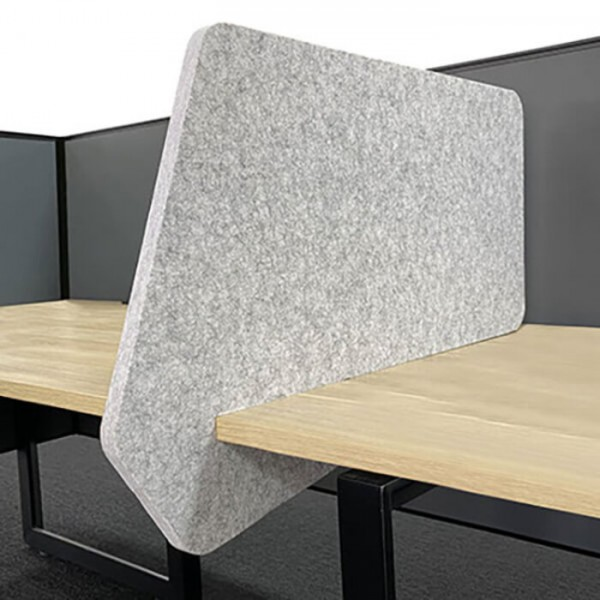 Sana Slider Desk Divider Acoustic Partition Fabric Privacy Screens