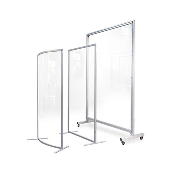 Element Mobile Transparent Screen Guard Partition Divider