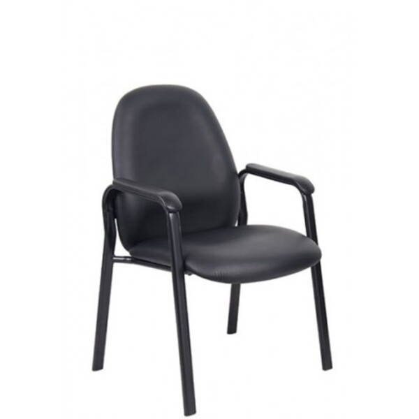 Bronte Visitor Chair With Arms 150kg Weight Tested