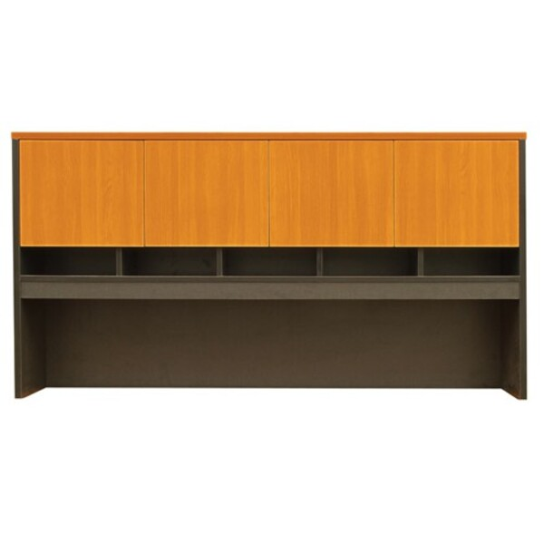 Logan Office Hutch with Doors