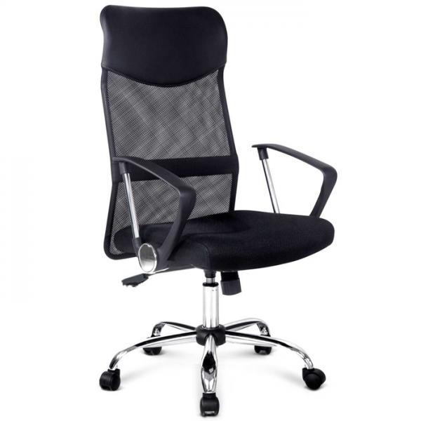 PU Faux Leather Mesh Office Chair Executive High Back Gaming Chairs