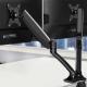 Artiss Dual Arm Adjustable Screen Monitor Holder