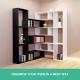 DIY L Shaped Display Shelf