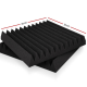 12 Tooth Wedge Acoustic Foam Panels Set
