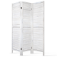 Artiss 3 Panel Room Divider Foldable  Privacy Screen Partition Stand