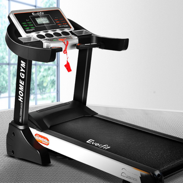 Everfit Home Gym Electric Treadmill with 450mm Wide Belt