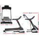 Everfit Home Gym Electric Treadmill with 18 Speed Levels and 150kg Weight Capacity