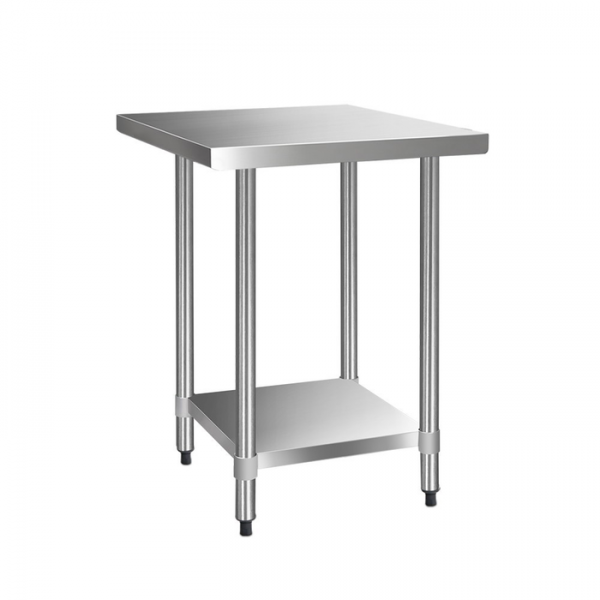 Cefito 762 x 762mm Commercial Stainless Steel Bench
