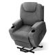 Artiss Electric Heating Massage Chair Recliner Sofa Lift Motor Armchair