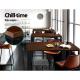 Alex Vintage Industrial High Cafe Bar Table