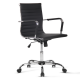 Executive Office Chair Computer Desk Chairs Home Work Study Black Mid Back
