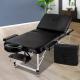 3 Fold Portable Massage Table Aluminium Construction Black