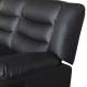 Fantasy Recliner Pu Leather 3R Black