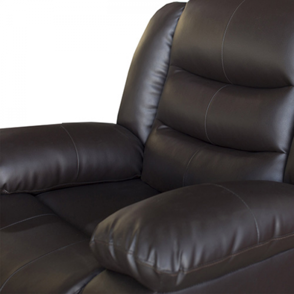 Fantasy Recliner Pu Leather 1R Brown