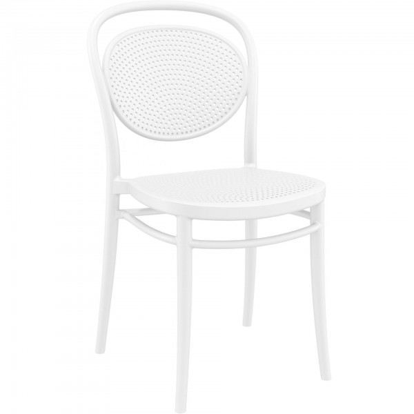 Marcel Office Cafe Stacking Indoor-Outdoor Chair