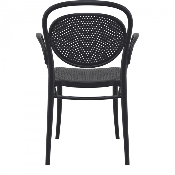 Marcel XL Office Cafe Stacking Indoor-Outdoor Armchair