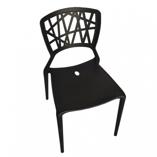 Dicaprio Stackable Indoor Outdoor Designer Cafe Dining Chair