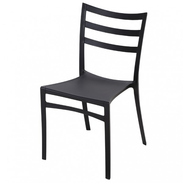 Straw Stackable Indoor Outdoor Cafe Dining Chair