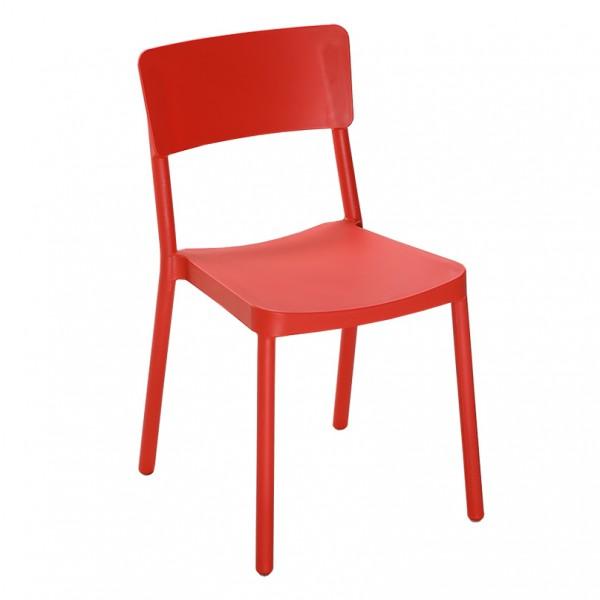 Lucas Stackable Indoor Outdoor Cafe Dining Chair