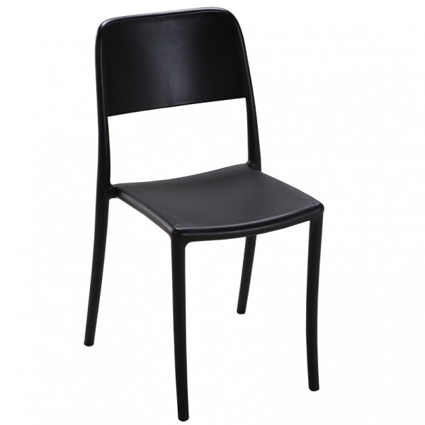Virgo Stackable Indoor Outdoor Cafe Dining Chair