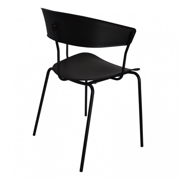 Diana Stackable Cafe Restaurant Dining Chair