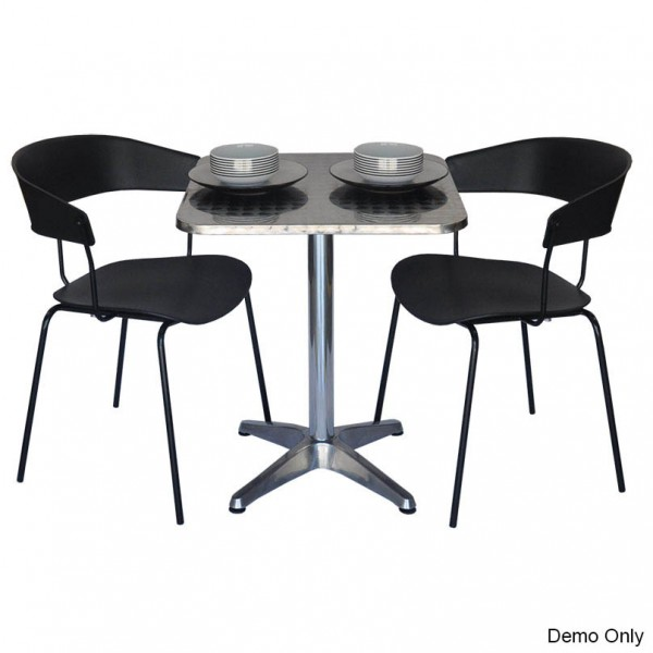Nick Foldaway Square Top Cafe Dining or Bar Table