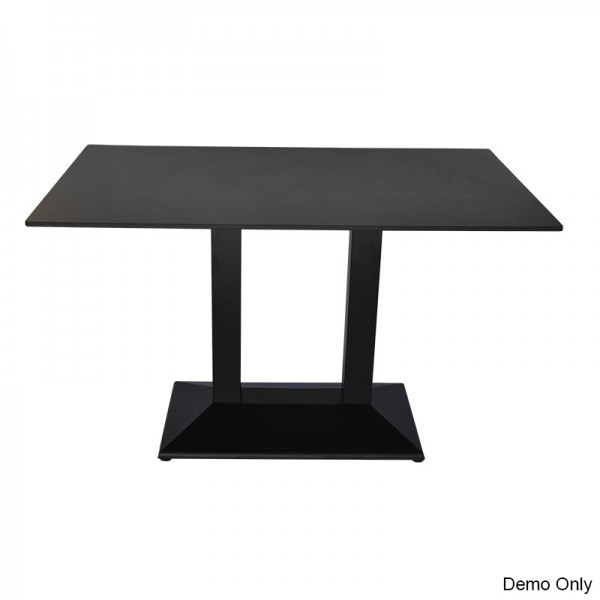 David Restaurant Cafe Dining Double Table Base