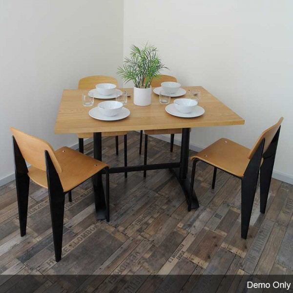 Liddy Restaurant Cafe Dining Double Table Base