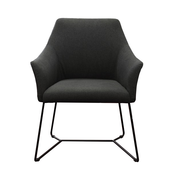 Tulip Metal Sled Base Office Visitor Tub Chair