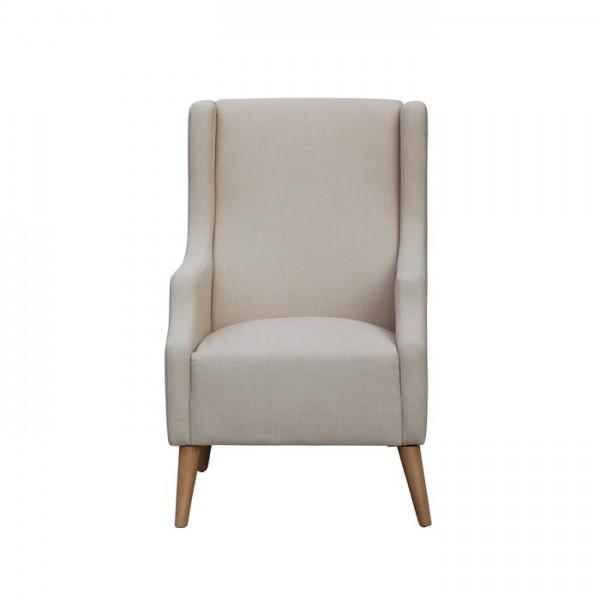 Moriah Fabric Armchair Timber Legs
