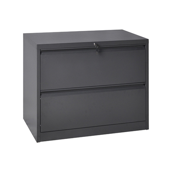 Lateral Metal Office Lockable Storage Filing Cabinets 2 or 3 Drawers